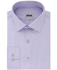 Kenneth Cole Unlisted Men's Slim-Fit Stripe Dress Shirt