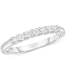 Diamond Band (5/8 ct. t.w.) in 14k White Gold