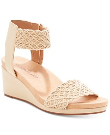 Lucky Brand Women's Kierony Wedge Sandals