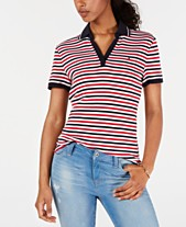 96ad09de Tommy Hilfiger Striped Cotton Polo, Created for Macy's