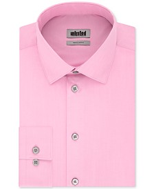 Kenneth Cole Unlisted Men's Classic/Regular-Fit Solid Dress Shirt