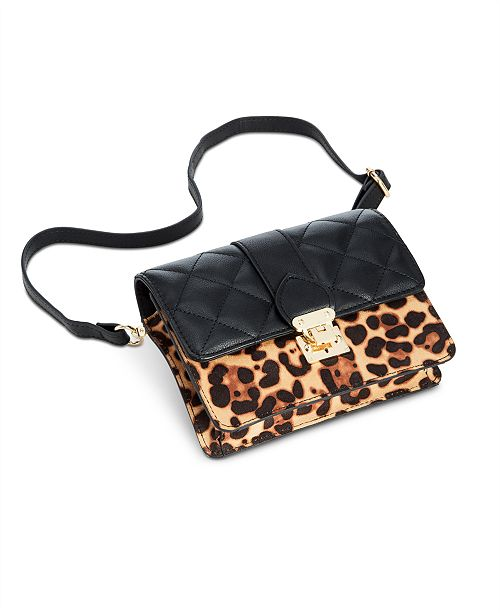 INC International Concepts I.N.C. Jehnna Q. Convertible Belt Bag, Created for Macy's