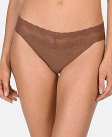 Natori Bliss Perfection Lace-Waist Bikini 756092