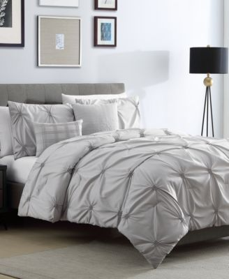 Corwin Gray 5-Pc. Full/Queen Comforter Set, Created for Macy's
