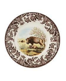 Spode Woodland  Bison Salad Plate