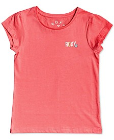 Roxy Little Girls Sunkist Graphic Cotton T-Shirt