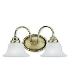 Edgemont 2-Light Bath Vanity Fixture
