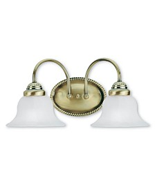 Livex Edgemont 2-Light Bath Vanity Fixture