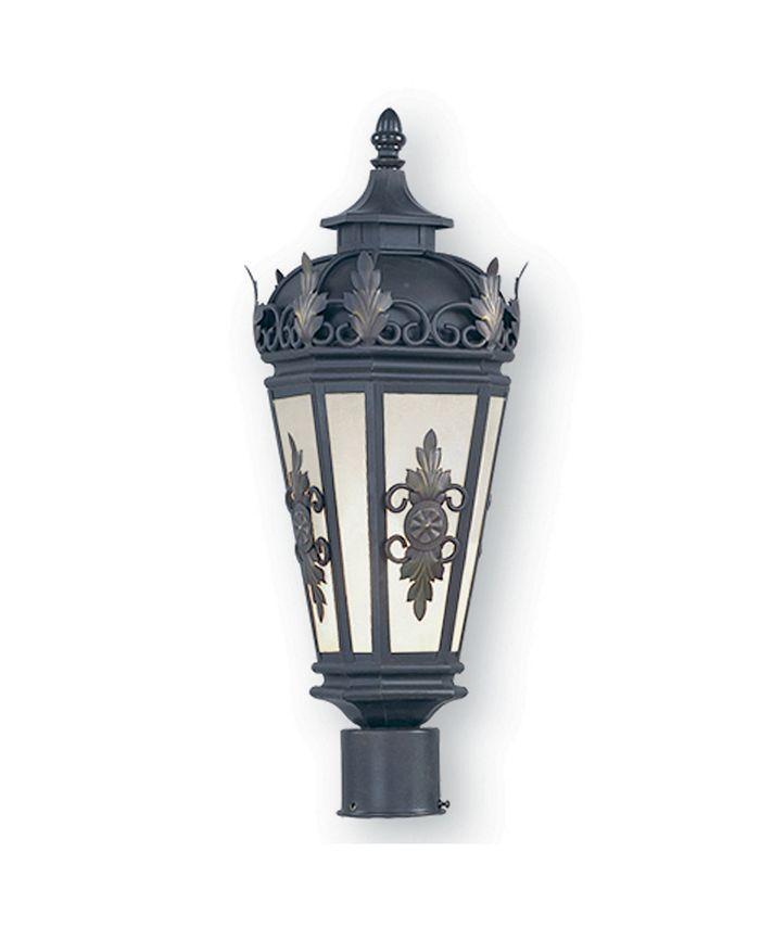 "Livex - Berkshire 1-Light 22"" Outdoor Post Lantern"
