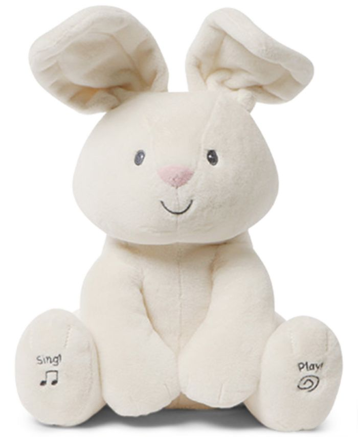 Gund® - Baby Boys or Girls Animated Flora Bunny Plush Toy