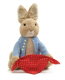 Gund® Baby Boys or Girls Peek-a-Boo Peter Rabbit Plush Toy