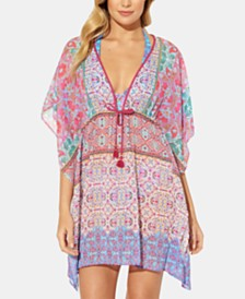 Bleu by Rod Beattie St. Tropez Caftan Cover-Up