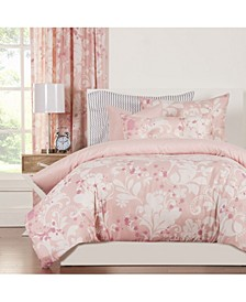 Eloise 6 Piece Queen Luxury Duvet Set