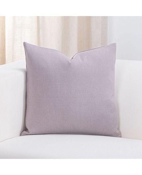 "Revolution Plus Everlast Amethyst 20"" Designer Throw Pillow"