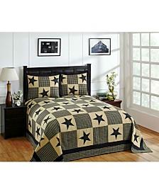 Star Twin Bedspread and Sham Set