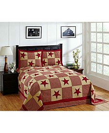 Star Queen Bedspread and Sham Set