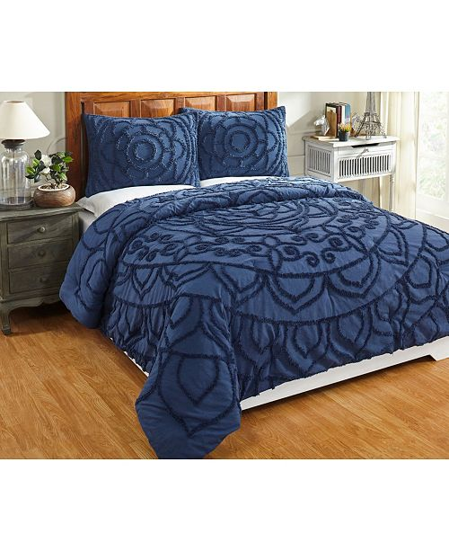 Better Trends Cleo Full/Queen Comforter Set