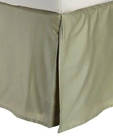 Superior 300 Thread Count Cotton Solid Bed Skirt - King