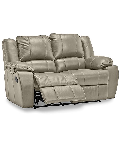 Surprising Kovin 66 Leather Recliner Loveseat Creativecarmelina Interior Chair Design Creativecarmelinacom