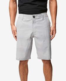 "O'Neill Men's Locked Stripe 20"" Hybrid Short"