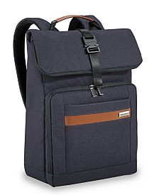 Briggs & Riley Kinzie Street 2.0 Medium Fold-Over Backpack