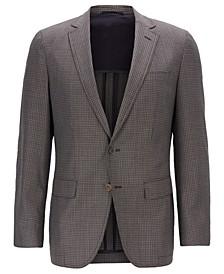 BOSS Men's Halwon Slim-Fit Wool Blazer