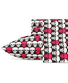 Betsey Johnson Printed Twin Sheet Set