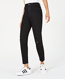 Vanilla Star Juniors' Ripped High-Rise Skinny Jeans