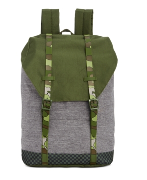 Image of Accessory Innovations 17 Kids' Formal Sack Backpack - Olive Green/Gray