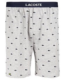 Lacoste Men's Signature-Print Shorts