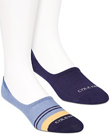 Cole Haan Men's 2-Pk. Liner Socks