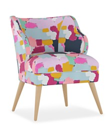 Natalie Modern Chair, Quick Ship