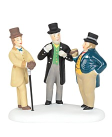 Cornhill Bankers Figurines