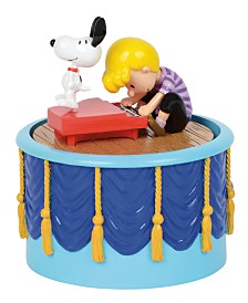 Department 56 Villages Peanuts Snoopy Dancing!