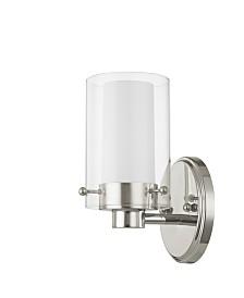 Livex Manhattan 1-Light Bath Vanity Fixture