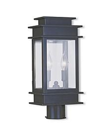 Princeton 2-Light Small Outdoor Post Lantern