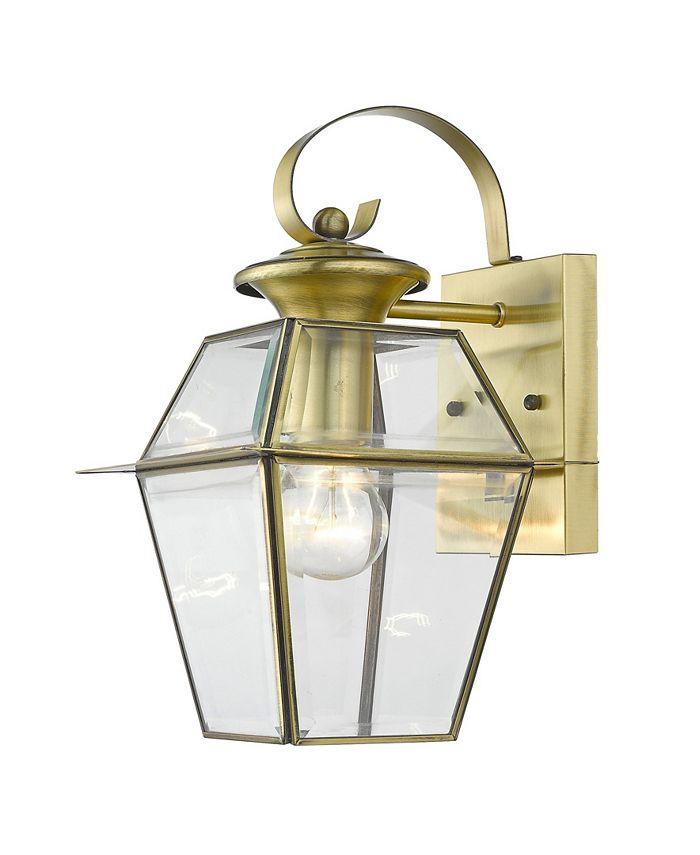 Livex - Westover 1-Light Outdoor Wall Lantern