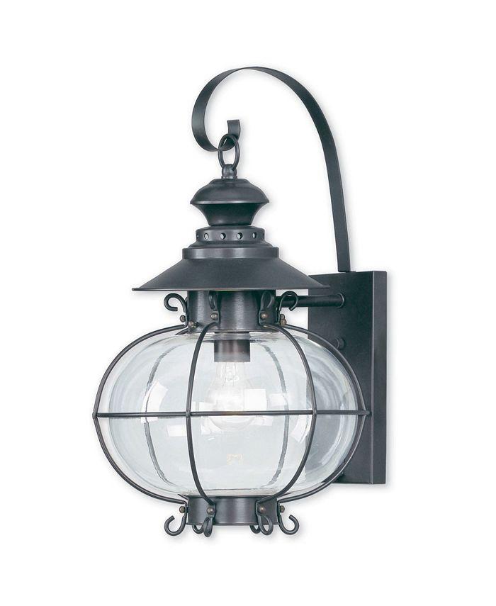 "Livex - Harbor 1-Light 20"" Outdoor Wall Lantern"