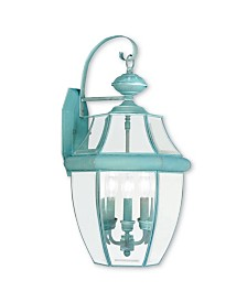 Livex Monterey 3-Light Outdoor Wall Lantern