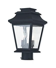CLOSEOUT!   Hathaway 2-Light Outdoor Post Lantern
