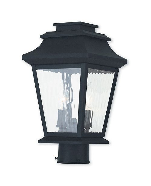 Livex CLOSEOUT!   Hathaway 2-Light Outdoor Post Lantern
