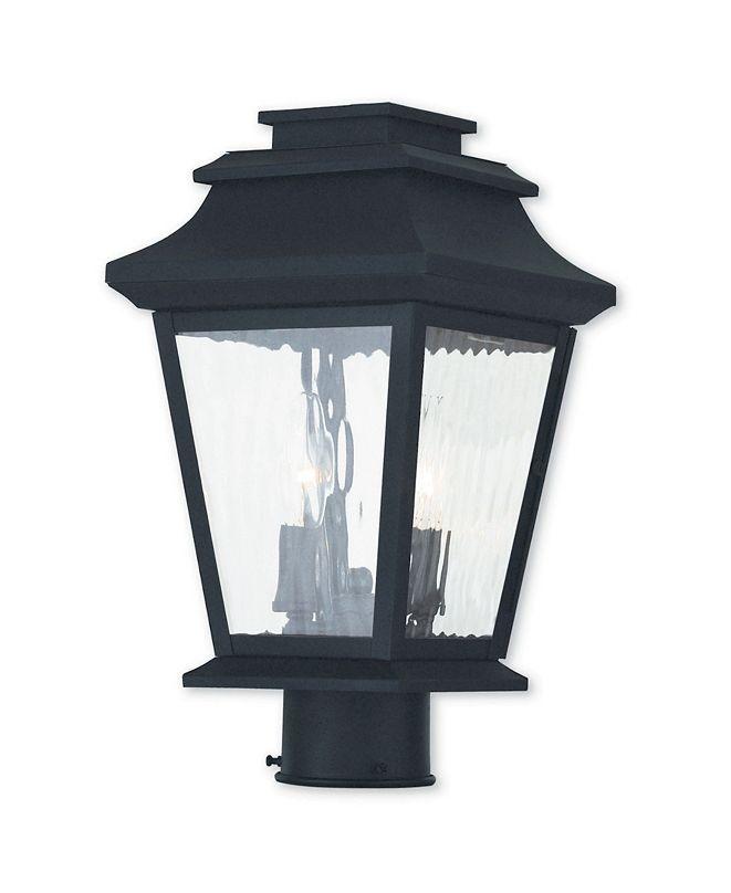 Livex CLOSEOUT!   Hathaway 2-Light Outdoor Post Lantern
