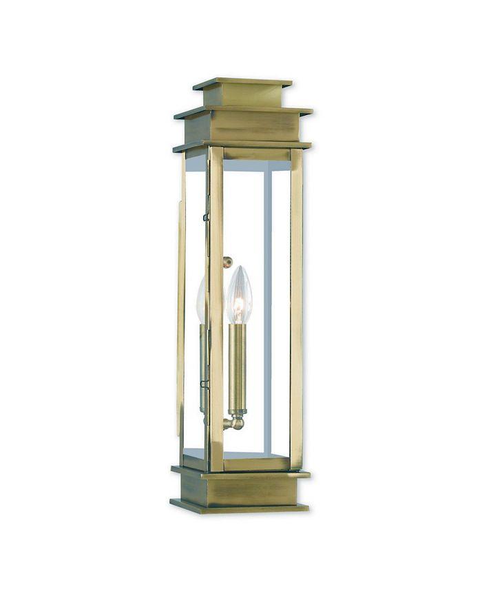 Livex - Princeton 1-Light Wall Lantern