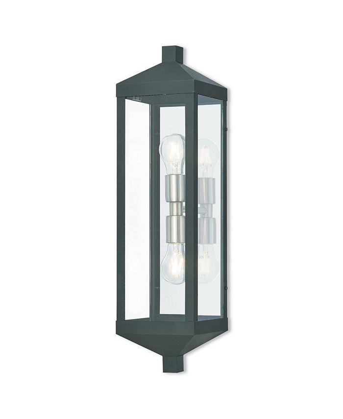 Livex - Nyack 2-Light Outdoor Wall Lantern