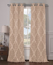 "Catalina 38"" x 84"" Damask Blackout Curtain Set"