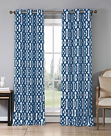 "Ashmont Geometric Print 38"" x 84"" Blackout Curtain Set"
