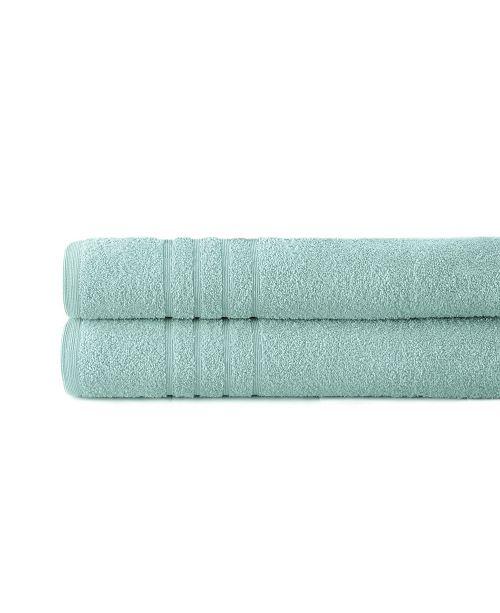 Modern Threads Spa Collection 100% Cotton 2-Pc. Oversized Bath Sheet Set
