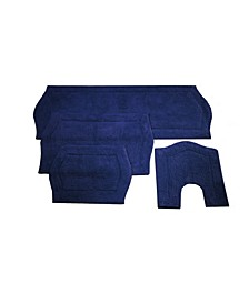 Waterford 4 Piece Bath Rug Set