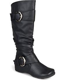 Journee Collection Women's Wide Calf Paris Boot