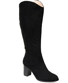 Journee Collection Women's Comfort Extra Wide Calf Parrish Boot